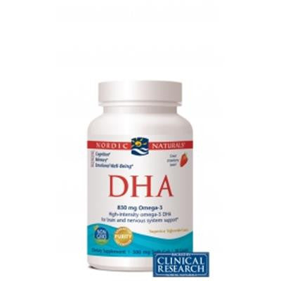 Nordic DHA Strawberry 90 Softgels