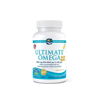 Nordic Natural Ultimate Omega 2X 60 Softgels