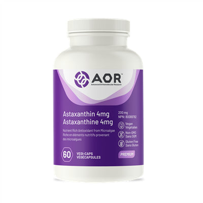 AOR Astaxanthin Ultra 4mg 60 Softgels