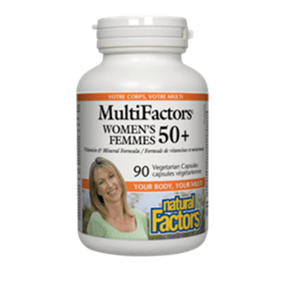 Natural Factors MultiFactors® Women's 50+ 90 Vcapsules