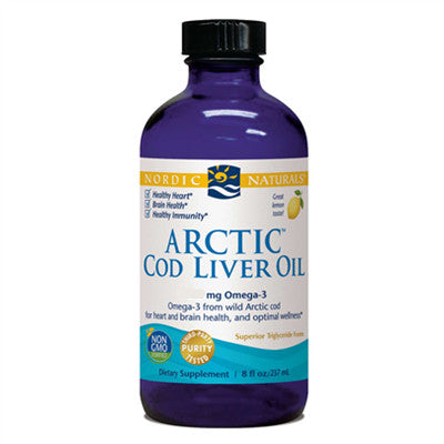 Nordic Naturals Cod Liver Oil Lemon 237 ml