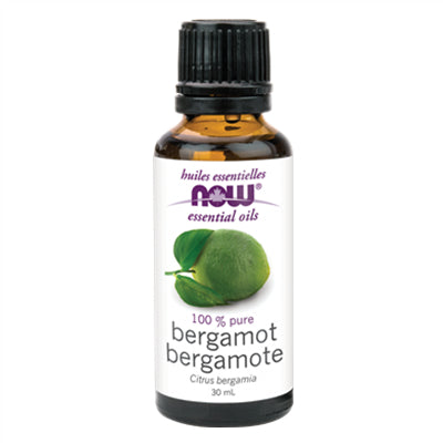 Now Bergamot Oil (Citrus bergamia) 30ml