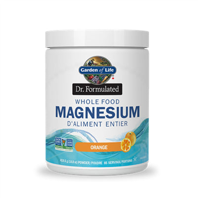 Garden of Life Dr. Formulated Whole Food Magnesium Orange 419.5g