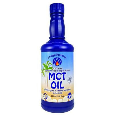 Omega Nutrition MCT Medium Chain Triglyceride Oil 473 ml