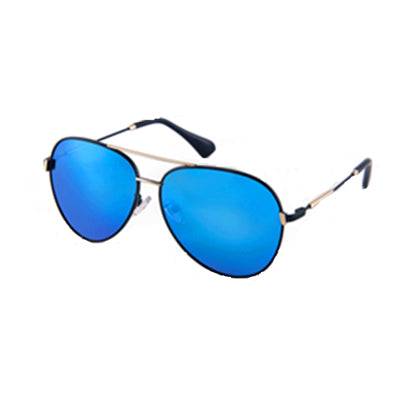 Mira Aviator Blue Lens Sunglasses