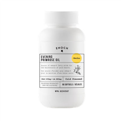 Enoch Evening Primrose Oil 1000mg 90 Softgels