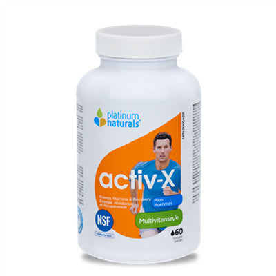 Platinum Activ-X Men 60 Softgels
