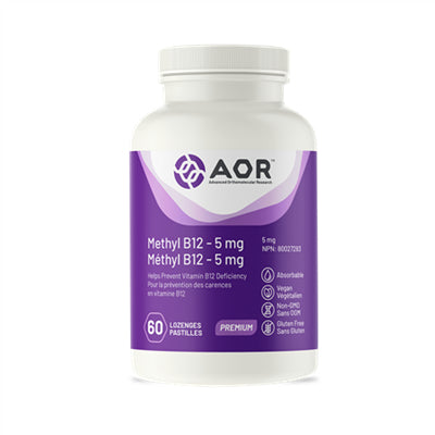 AOR Methylcobalamin 5mg 60 Lozenges
