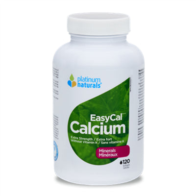 Platinum EasyCal Calcium 120 Softgels