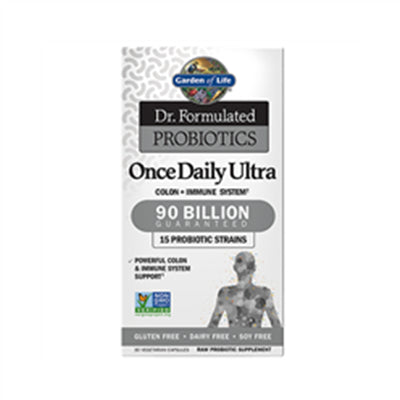 Garden of Life Dr. Formulated Probiotics Once Daily Ultra 90 Billion Refrigerated 30 VCaps
