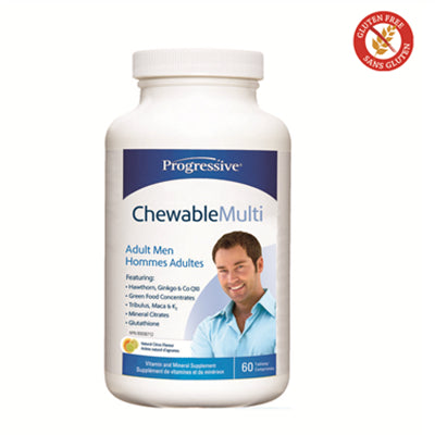 Progressive Chewable Multi for Men 60 Tablets