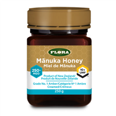 Flora New Zealand Manuka Honey 250+ 250g