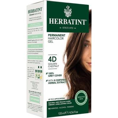 Herbatint 4D Golden Chestnut 135ml