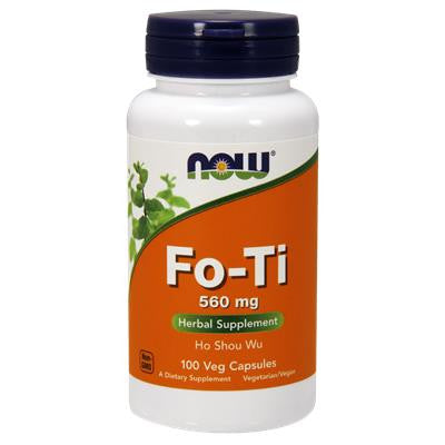 Now Fo-Ti (Ho Shou Wu) 560 mg 100 VCapsules