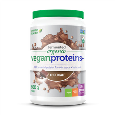 Genuine Health Fermented Organic Vegan Protein Chocolate 600g