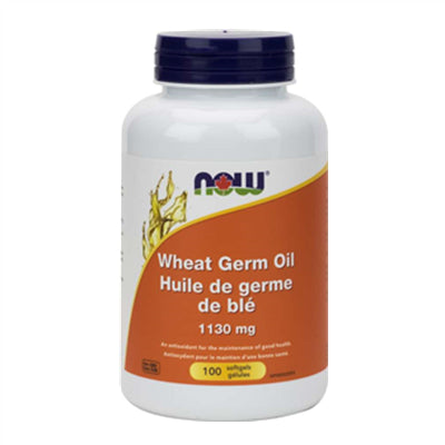 Now Wheat Germ Oil 20 Minims 100 Softgels