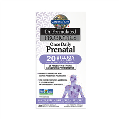 Garden of Life Dr. Formulated Once Daily Prenatal Shelf Stable 30 VCapsules