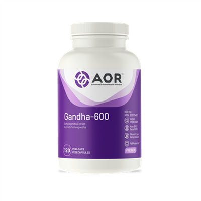 AOR Gandha 600 600mg 120 VCapsules