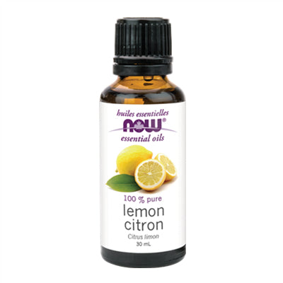 Now Lemon Oil (Citrus Limon) 30ml