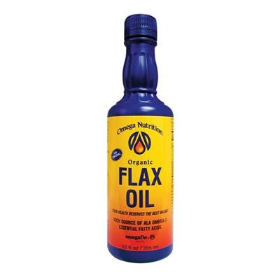 Omega Nutrition Organic Flax Seed Oil 355 ml