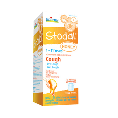 Boiron Stodal Child Honey Cough Syrup 200 ml