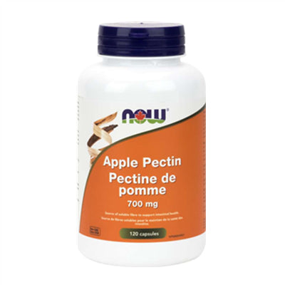 Now Apple Pectin 700mg 120 Capsules