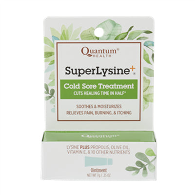 Quantum Health Super Lysine+® Ointment, Cold Sore Treatment 7 g