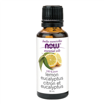 Now Lemon & Eucalyptus Oil Blend 30ml