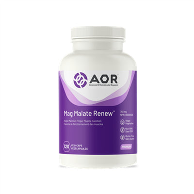 AOR Mag Malate Renew 120 VCapsules