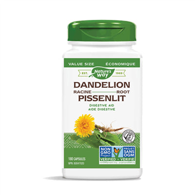 Nature's Way Dandelion Root 180 V-Capsules
