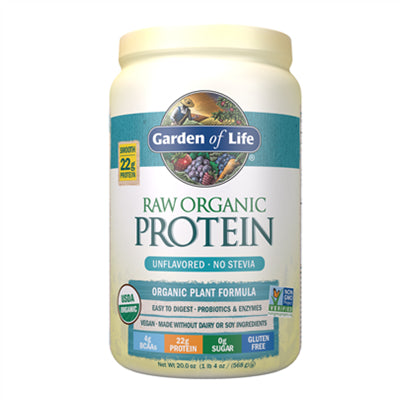 Garden of Life Raw Organic Protein Unflavoured 568g