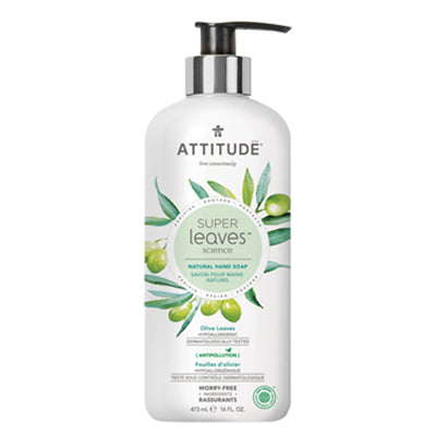 Attitude Hand Soap Olive Leaves 473 ml
