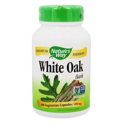 Nature's Way White Oak 480 mg 100 Capsules