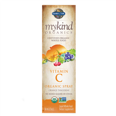 Garden of Life MyKind Organics Vitamin C Spray Orange 58ml