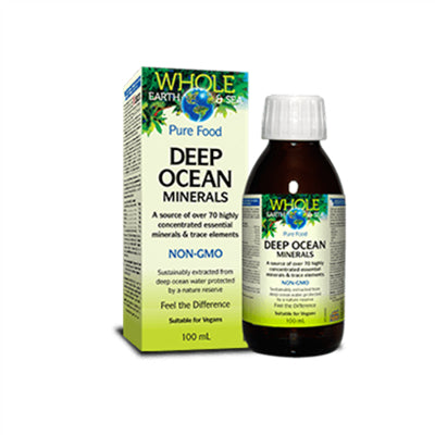 Natural Factors WES Deep Ocean Minerals 100ml