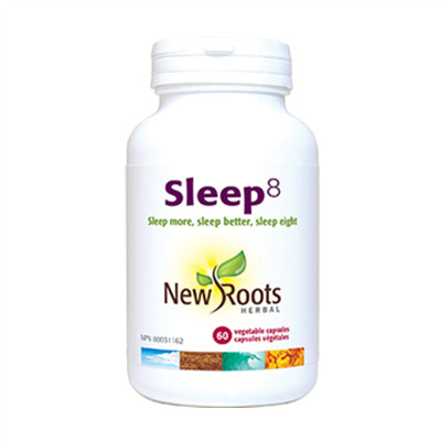 New Roots Sleep8 60 VCapsules