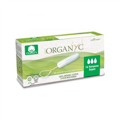 Organyc Tampons Super 16 Counts