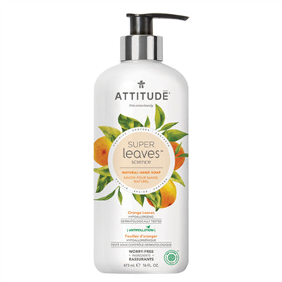 Attitude Hand Soap Orange Leaves 473 ml