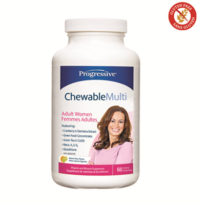 Progressive Chewable Multi for Women 60 Tablets