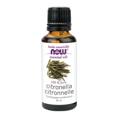 Now Citronella Oil (Cymbopogon winterianus) 30ml