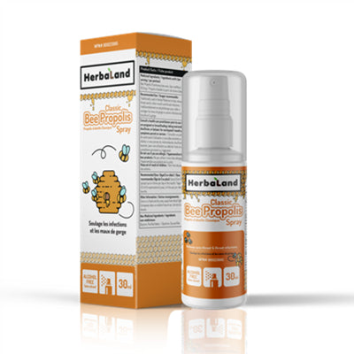 Herbaland Classic Bee Propolis Spray Alcohol Free 30ml