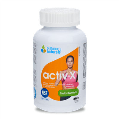 Platinum Activ-X Women 60 Softgels