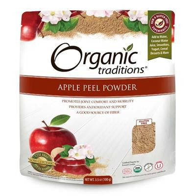 Organic Traditions Apple Peel Powder 100g