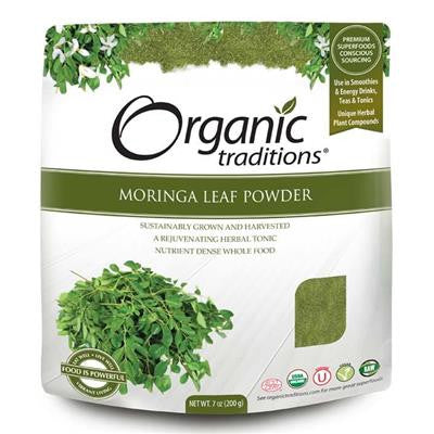 Organic Traditions Moringa Powder 200g