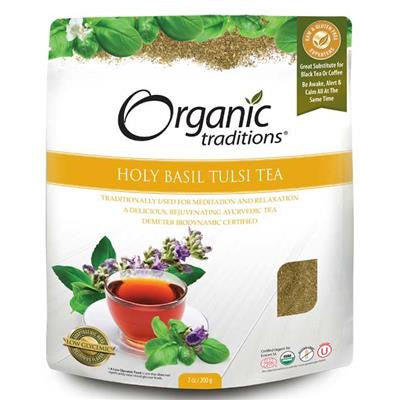 Organic Traditions Holy Basil Tulsi Tea 200 g