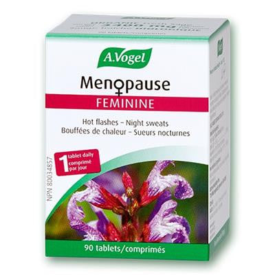 A.Vogel Menopause Feminine Hot Flushes 90 Tablets