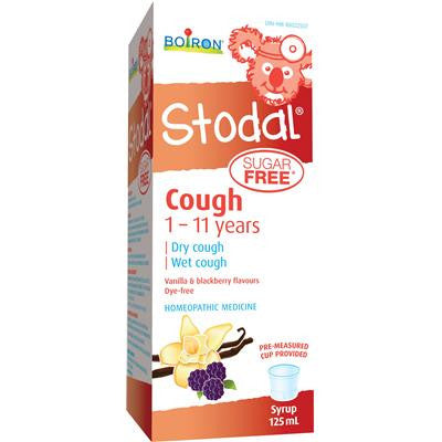 Boiron Stodal Child Sugar Free Cough Syrup 125 ml