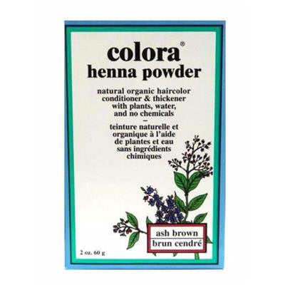 Colora Henna Powder - Ash Brown 60 g
