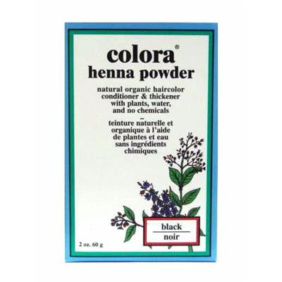 Colora Henna Powder - Black 60 g