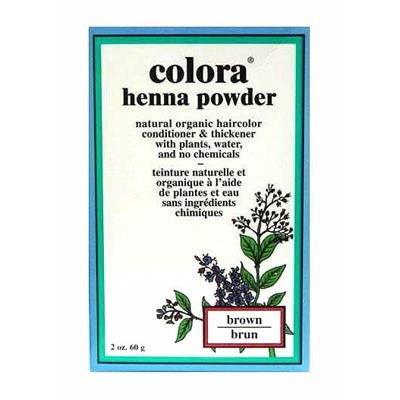 Colora Henna Powder - Brown 60 g